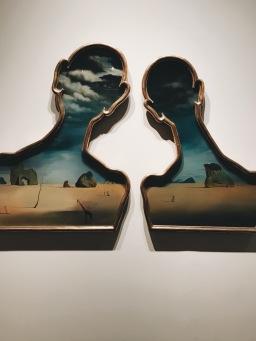Invadiendo los espacios de Gala y Dalí